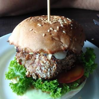 Japanese Tonkatsu Burger